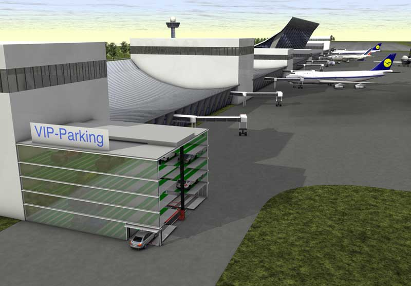 Automated Parking for airports | Skyline Parking | Skyline Parking